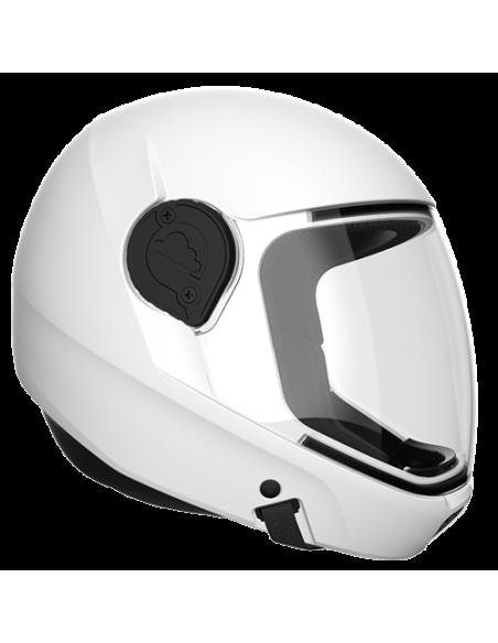 G4 Vollvisier Helm Weiß