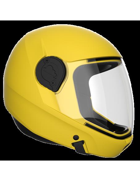 G4 Vollvisier Helm Gelb