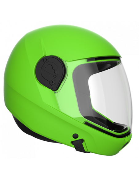 G4 Vollvisier Helm Lime
