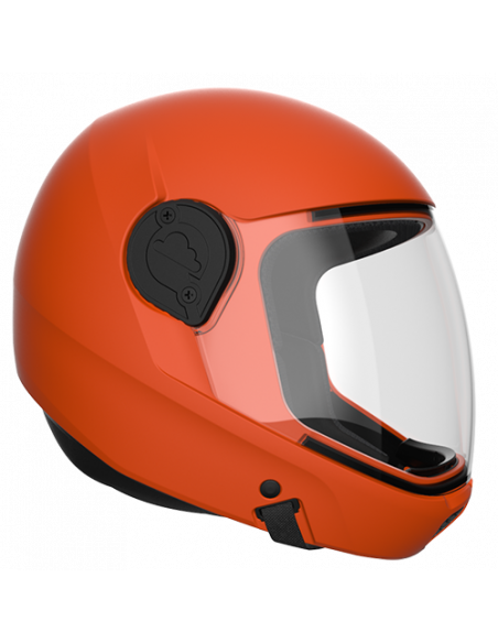 G4 Vollvisier Helm Orange